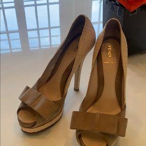 Perfect condition Fendi Heels